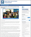 PROGRESS: Rhode Island Partners with Low-Performing Schools