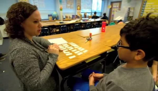 teacher and student sort words