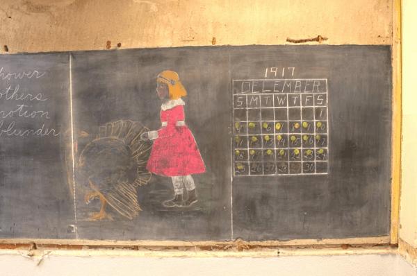 1917 chalkboard
