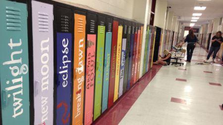 lockers into books