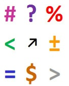 mathematical symbols