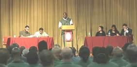 Prisoner debate with Harvard