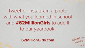 let girls learn campaign image
