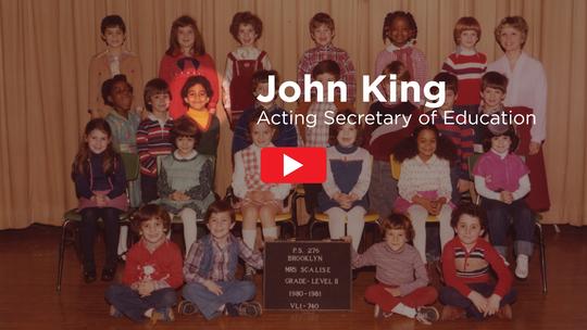 John King - Acting Secretary of Education