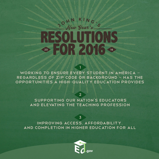 John King's 2016 New Year's Resolutions