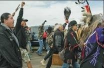 Dakota protest of pipeline