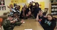 ASL club kids