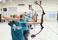 the hunger games archery lesson