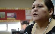 Blackfoot language teacher