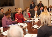 DeVos meets with Teachers
