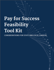 Pay For Success Toolkit cover page