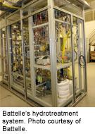 Battelle's hydrotreatment system