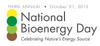 Logo for National Bioenergy Day.