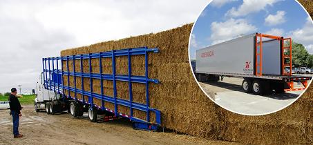 self loading trailer