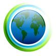 Bioenergy Atlas Globe Icon
