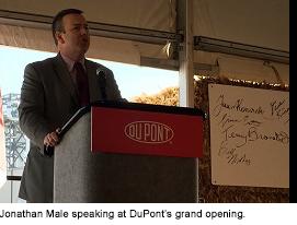 Jonathan Male at Dupont Grand Opening