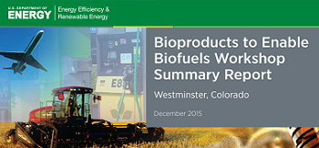 Bioproducts to Biofuel Workshop Cover Image