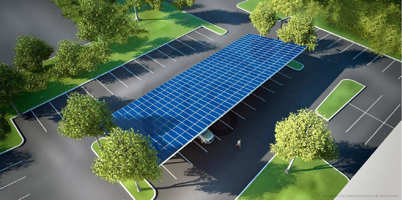 Photo of Agua Caliente Band solar parking garage