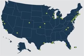 GAF Map