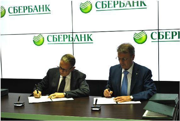 Sberbank Signing