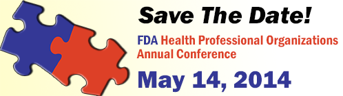 FDA Health Professional Conference Logo