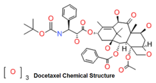 Docetaxel Chemical Structure