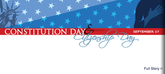 Judiciary, New Citizens, Students Celebrate Constitution Day