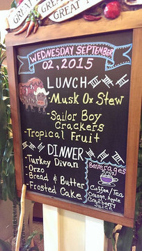 Traditional Foods School Menu