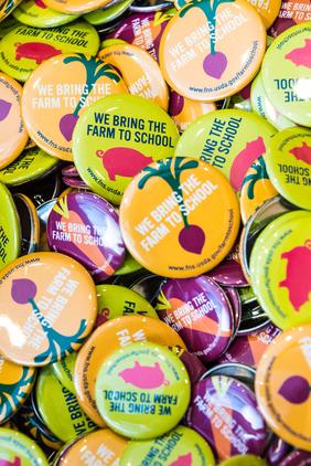 Farm to school pins