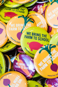 Farm to school buttons