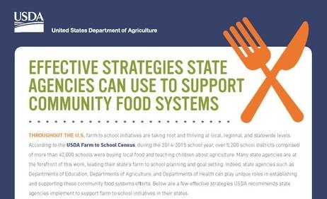 State agency fact sheet