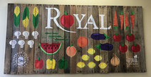 Royal Food Service Sign