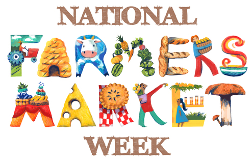 National Farmers Market Week logo