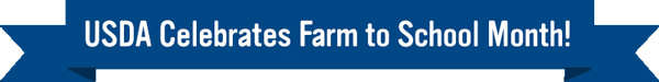 Farm to School Month Banner