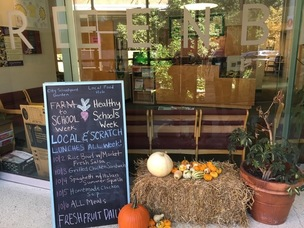 City Schoolyard Garden Menu for Farm to School Week