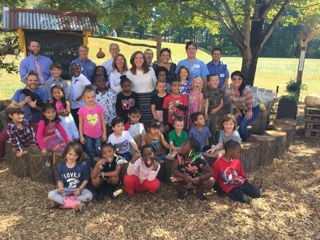 City Schoolyard Garden Group Photo