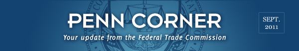 News from the Federal Trade Commission - September