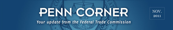 News from the Federal Trade Commission - November 2011