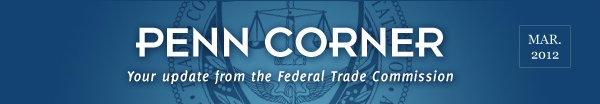News From The Federal Trade Commission March 2012
