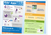 kids' apps infographic