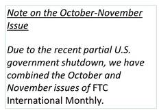 Monthly note October 2013