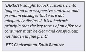 DIRECTTV quote from Chairwoman