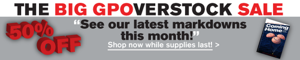 GPOverstock Sale Banner 2