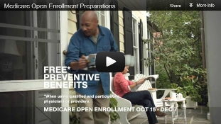 Video: Medicare Open Enrollment Preparations
