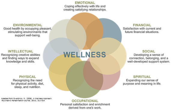 8 Dimensions of Wellbeing