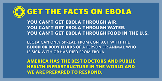 Get the Facts on Ebola