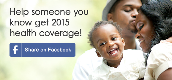 Help someone you know get 2015 health coverage