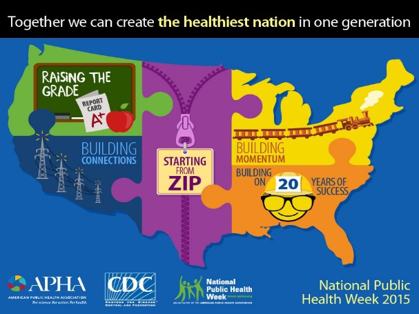 CDC Celebrates National Public Health Week 2015