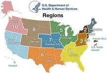 HHS Regions Map