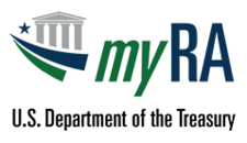 Treasury department's myRA logo